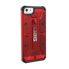 Urban Armor Gear Case for iPhone 5S/SE Composite Case-Red