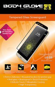Body Glove Tempered Glass Screenguard for LG G5 - Black Border