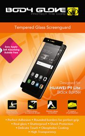 Body Glove Tempered Glass Screenguard for Huawei P9 Plus - Black Border