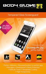 Body Glove Tempered Glass Screenguard for Huawei P9 Lite - White Border