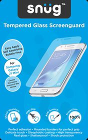 Snug Tempered Glass Screenguard for Samsung Galaxy J1 Mini