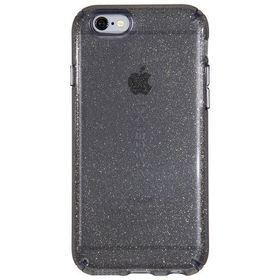 Speck Candyshell Clear with Glitter for iPhone 6/6S Plus - Onyx/Gold Glitter