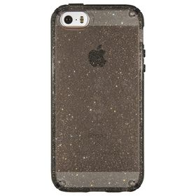 Speck Candyshell Clear with Glitter for iPhone 5/5S/5Se - Onyx/Gold Glitter