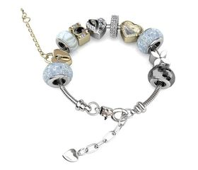 Destiny MyLady Charm Bracelet with Swarovski Crystals - Black
