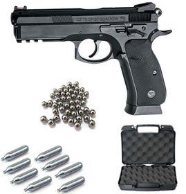 A.S.G Cz Sp-01 4.5mm Steel Ball Non-Blowback Co2 Airgun Kit