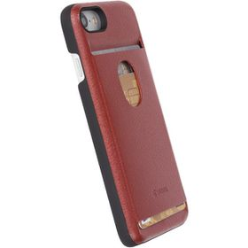 Krusell Timra WalletCover for Apple iPhone 7 - Rust