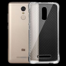 Tuff-Luv Shock-resistant Cushion TPU Protective Case for Xiaomi Redmi Note 3 - Transparent