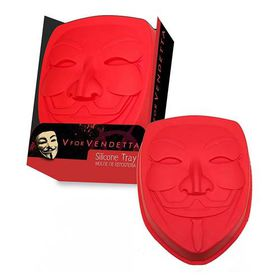 V For Vendetta Mask Baking Trays