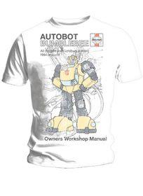 Haynes Manual Transformers Bumblebee T-Shirt (Small)