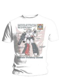 Haynes Manual Transformers Megatron T-Shirt (Small)