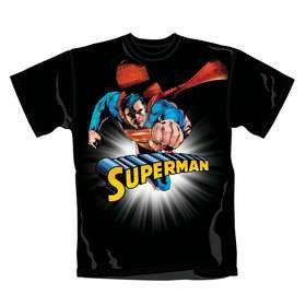Superman Solar Burn T-Shirt (Small)