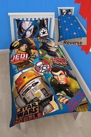 Disney Star Wars Rebels Tag Single Panel Duvet Set