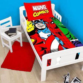 Marvel Comics Clash Single Panel Duvet