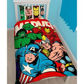 Marvel Comics Strike Single Panel Duvet