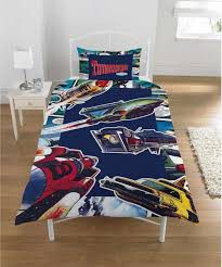 Thunderbirds Comic Action Single Duvet Set