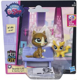 Littlest Pet Shop Value Channel - Begonia Gatto and Darling Gatto