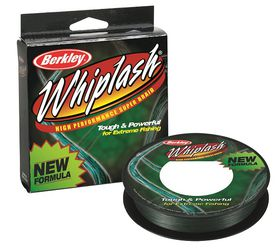Berkley - Whiplash Line Braid Green - 9kg
