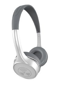 Zagg iFrogz Toxix Plus Headphones with Mic - White