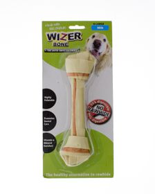 Wizer - Milk Knotted Bone Treat - Extra-Large