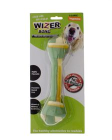 Wizer - Vegetable Knotted Bone Treat - Extra-Large