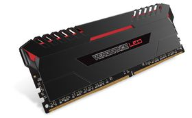 Corsair Vengeance 16GB DDR4 Memory Kit - Red LED