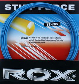 Rox Stiff Force Polyester String - Blue