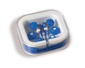Creative Travel Pulsate Earbuds - Blue