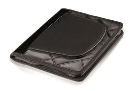 Elleven A5 Zip Around Tech Folder With Organiser - Black