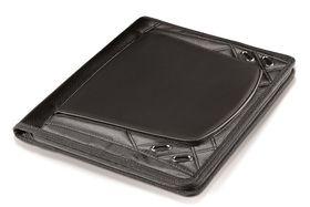 Elleven A4 Zip Aorund Tech Folder - Black