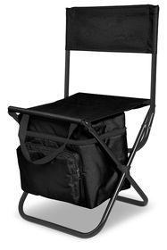 Creative Travel Capri Chair and Cooler - Black