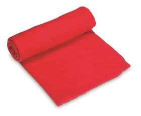 Creative Travel Blanket Fold Up In Pouch - Red