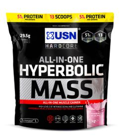 USN Hyperbolic Mass Strawberry - 1Kg