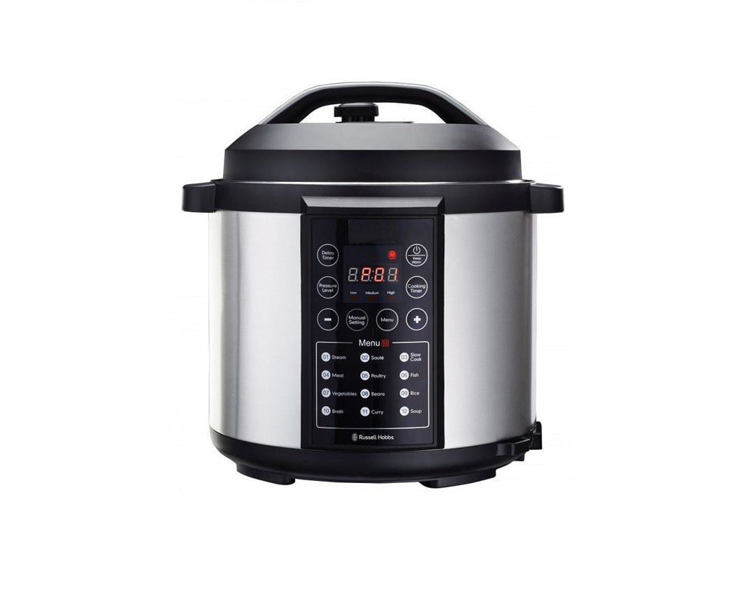 Russell Hobbs - 6 Litre Electric Pressure Cooker - 856295 | Buy ...