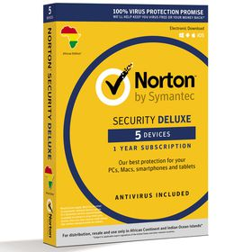 Norton Security Deluxe Software