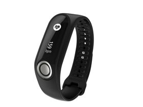 TomTom Touch Cardio + Body Composition Fitness Tracker Black - Large