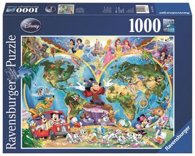 Ravensburger disneys world map puzzle buy online in south africa ravensburger disneys world map puzzle gumiabroncs Image collections