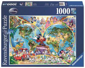 Ravensburger Disney's World Map Puzzle