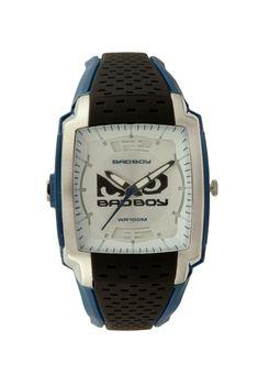 Bad Boy Men's Ana-Digital Watch - Black and Blue