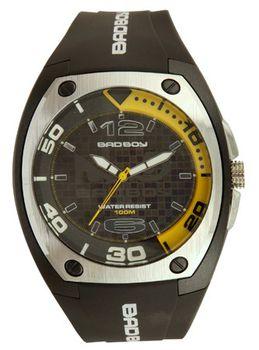 Bad Boy 100M-WR Ana-Digital Watch - Black and Yellow