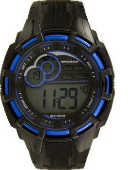 Bad Boy 100M-WR Digital Watch - Black and Blue