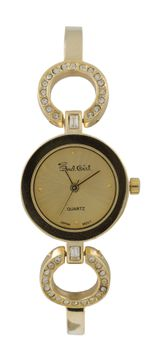 Bad Girl Posh Analogue Watch - Gold