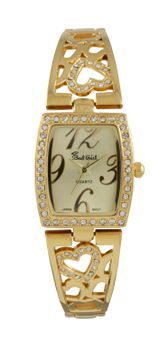 Bad Girl Cupid Analogue Watch - Gold