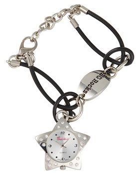 Bad Girl Rock Star Analogue Watch - Black