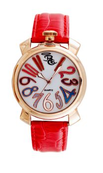 Bad Girl Girl-Power Analogue Watch - Red