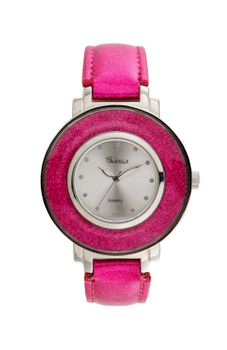Bad Girl Disco Analogue Watch - Pink