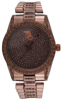 Bad Girl Hazel Hours Analogue Watch - Coffee