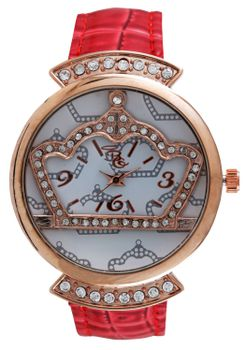 Bad Girl Dare Analogue Watch - Red