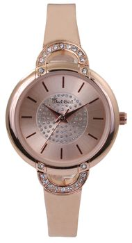 Bad Girl Muse Analogue Watch - Rose Gold