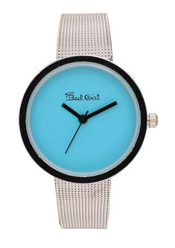Bad Girl Lunar Analogue Watch - Blue