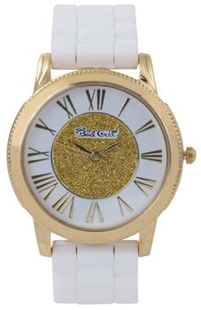 Bad Girl Enchanted Analogue Watch - Gold and White